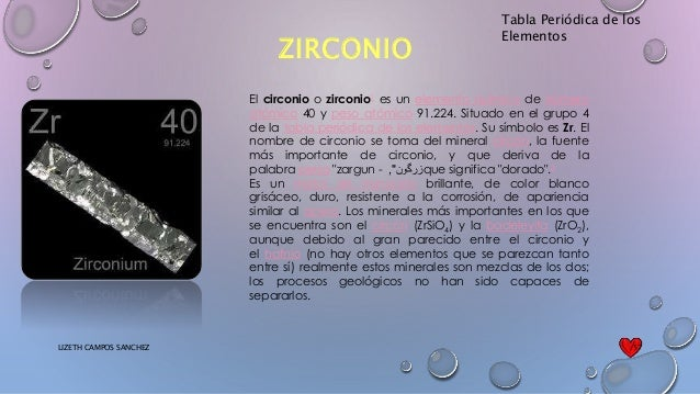 Tabla peridica tabla peridica de los elementos zirconio urtaz Image collections