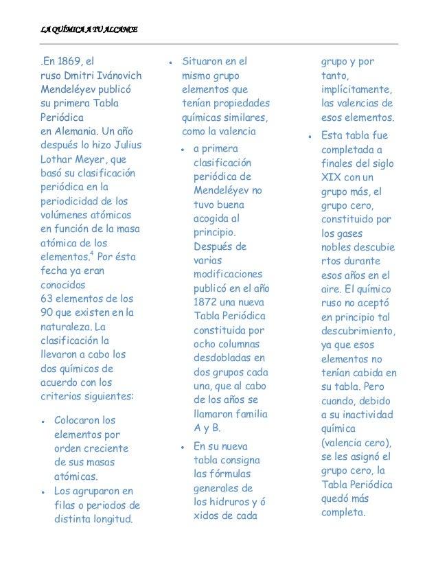 Tabla periodica completa1223 peridica de mendelyev 4 urtaz Image collections