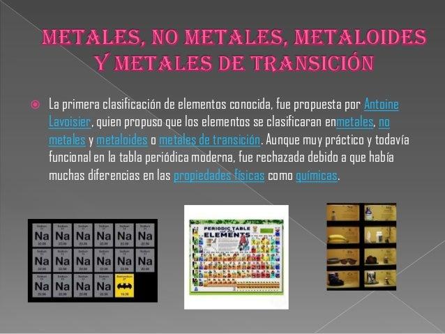 Tabla periodica de diapositivas 6 la tabla peridica de mendelyev presentaba urtaz Images