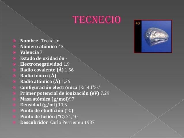 60 - Tabla Periodica Definicion De Valencia