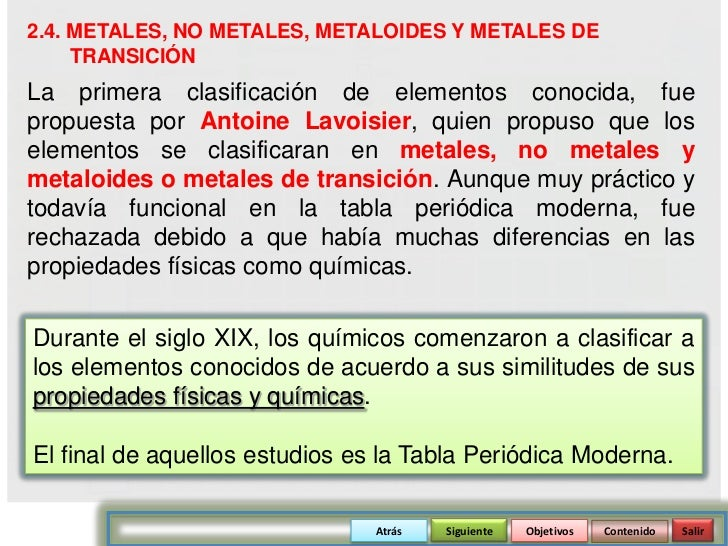 Tabla periodica ieiscome atrs siguiente objetivos contenido salir 16 24 metales urtaz Choice Image