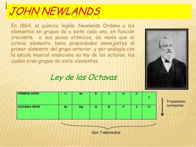 La tabla peridica john newlands urtaz Images