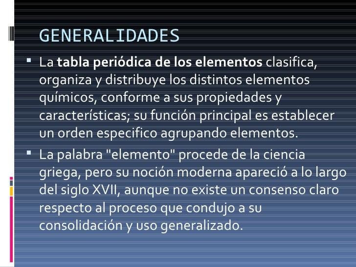 Escuela de biologia y quimica tabla periodica por david cordova generalidades ullila tabla peridica de los elementos urtaz Image collections