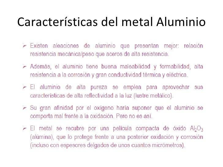 propiedades del aluminio - Tabla Periodica Y Sus Caracteristicas