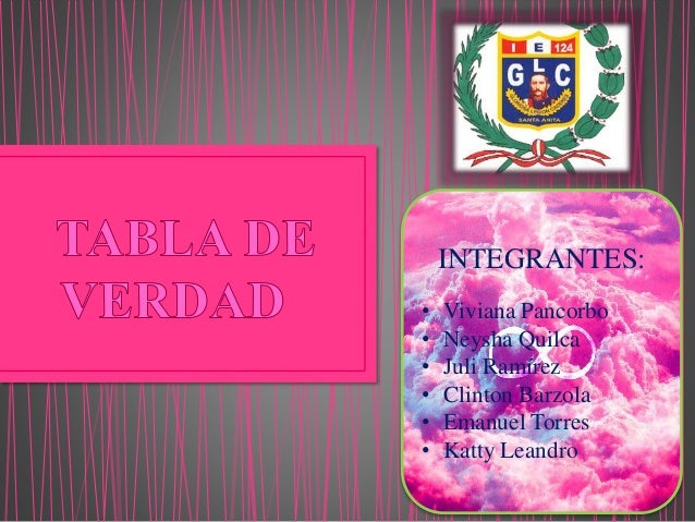INTEGRANTES:  • Viviana Pancorbo  • Neysha Quilca  • Juli Ramírez  • Clinton Barzola  • Emanuel Torres  • Katty Leandro