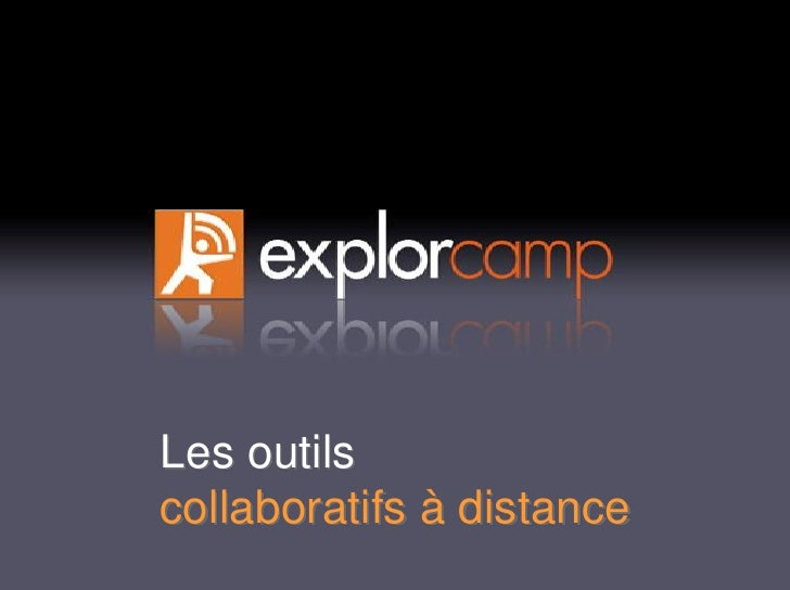 Les outils collaboratifs à distance
