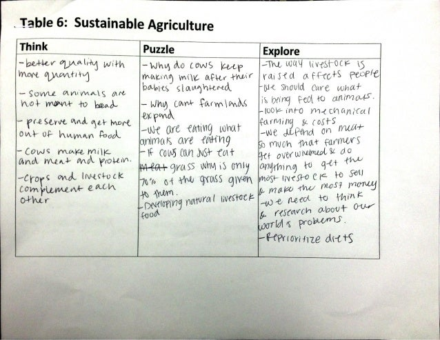 sustainable agriculture 6 essay Improving statistics for food security, sustainable agriculture, and rural development an action plan for africa 2011-2015 may 2011 f o n d.