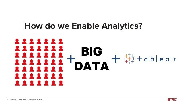 Tableau Conference 2018: Binging on Data - Enabling Analytics at Netf…