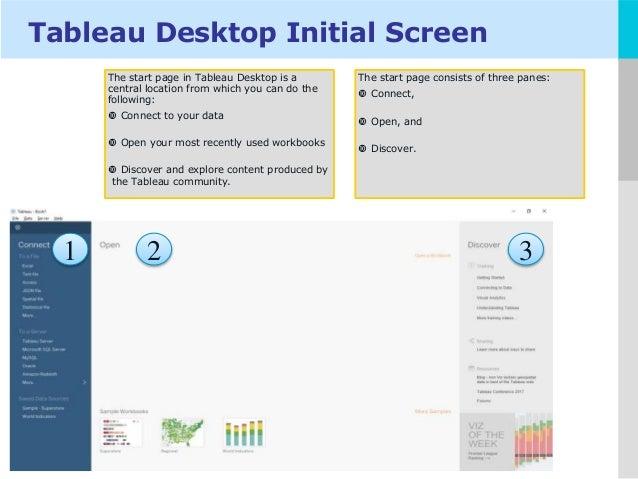 Tableau Desktop Material