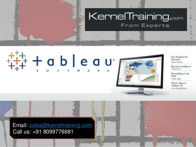 Email: sales@kerneltraining.com Call us: +91 8099776681