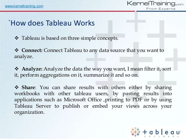 Tableau Training for Beginners Learn from Real Time Expert