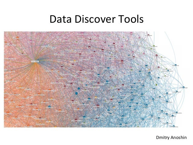 Data	   Discover	   Tools	    Dmitry	   Anoshin