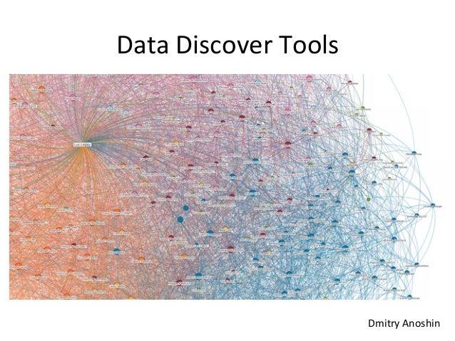 Data  Discover  Tools   Dmitry  Anoshin