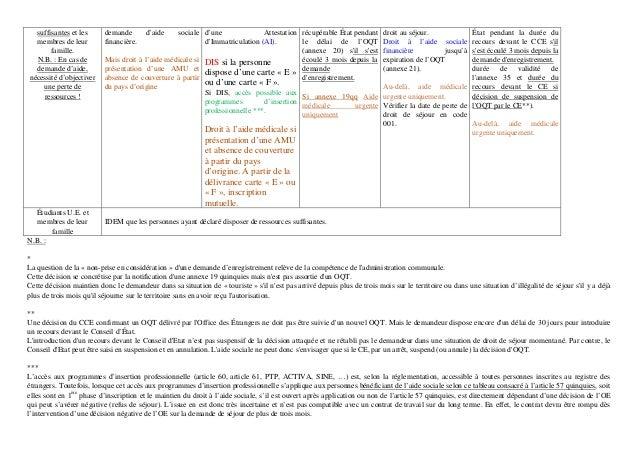 Tableau synthèse article 57 quinquiès