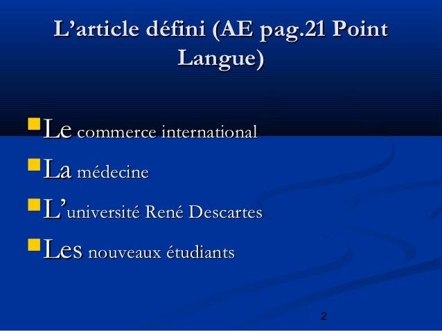 Tableaux de grammaire 1ère année Slide 2