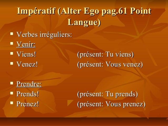 Tableaux de grammaire 2e. année 2 Slide 3