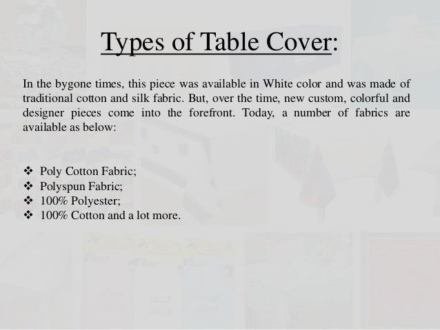 Table Cover By Table Linens For Less