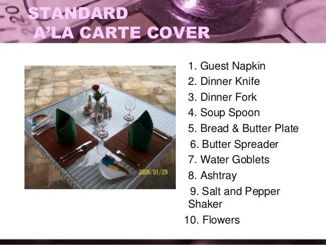Salt and Pepper Shaker; 26.  sc 1 st  SlideShare & Table manner students heru edit
