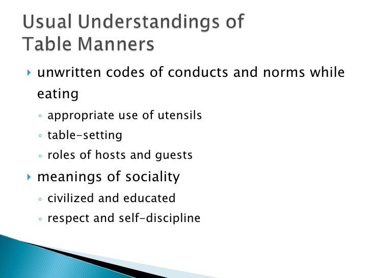 chinese and western table manner 100s of table manners how-to lists and lists with the best table manners tips our table manners experts have read every table manners book and article, along with asking the opinion of table manners experts from around the world, to create a comprehensive table manners resource descriptive .