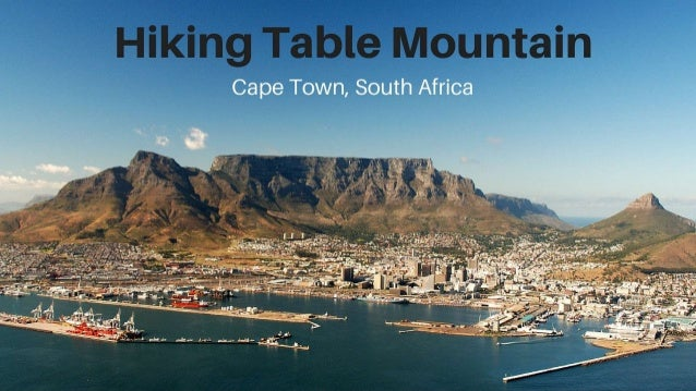 hiking table mountain in cape town south africa rh slideshare net table mountain south africa elevation table mountain south africa info