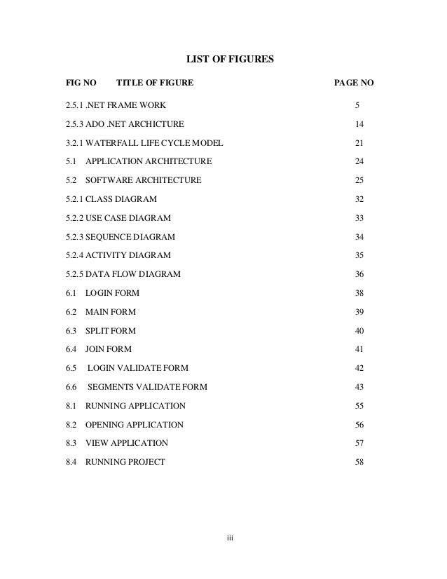 File Splitter Table of contents  Slide 3