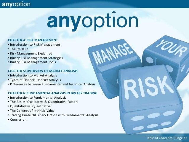 Binary options quantitative trading strategies youtube