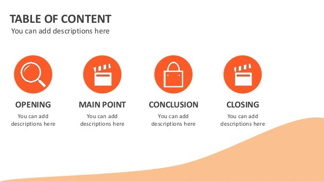 Powerpoint Table Of Contents Template – wolfcoin.net