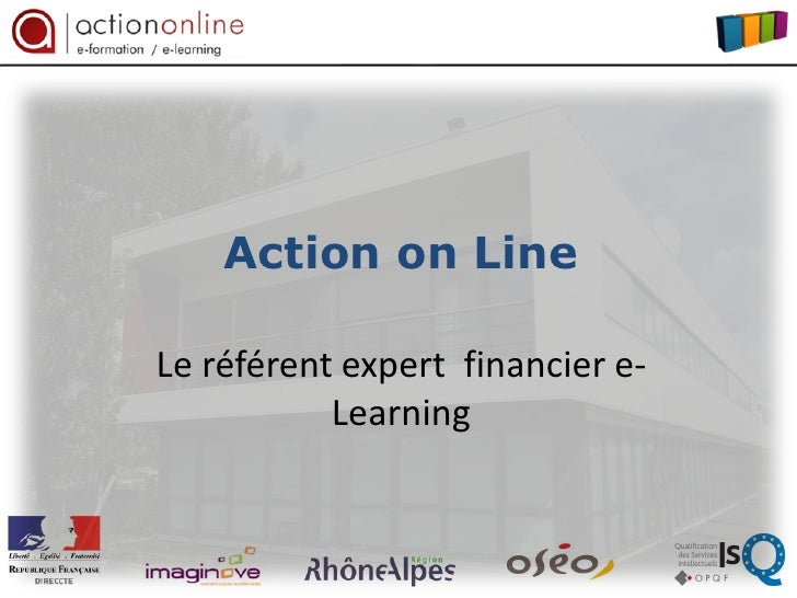 Action on LineLe référent expert financier e-           Learning