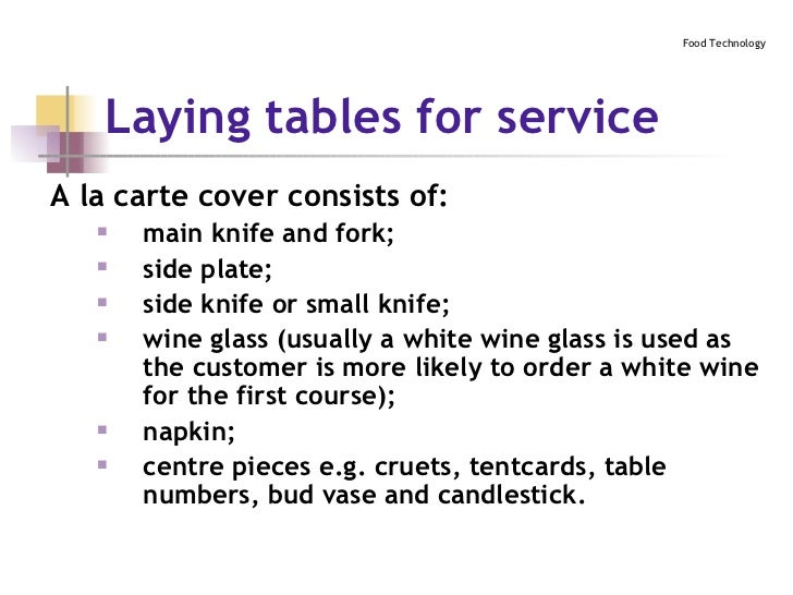 ... 18. Laying tables ...  sc 1 st  SlideShare & Table Setting