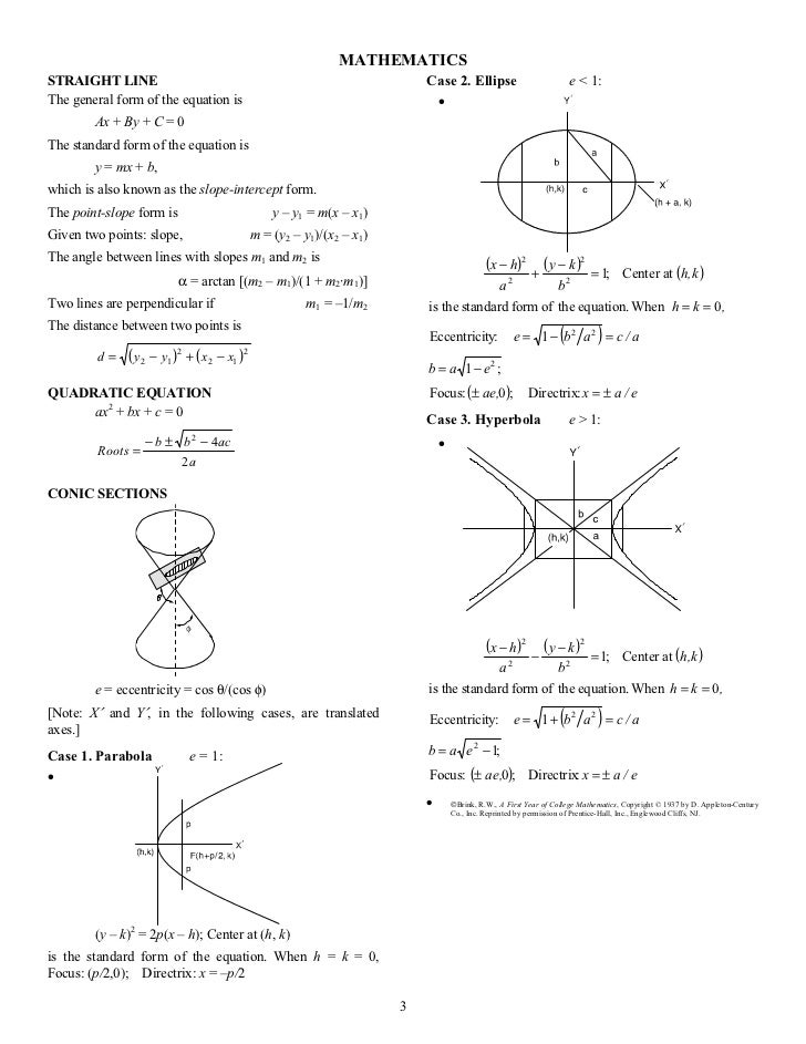 Tables Of Math Physics And Chemistry Engineering Handbook