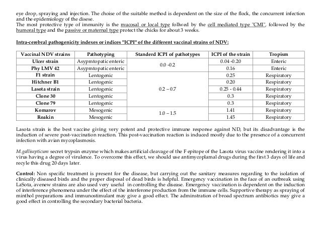 Tables of poultry viral diseases Dr Fares El khayat Slide 3