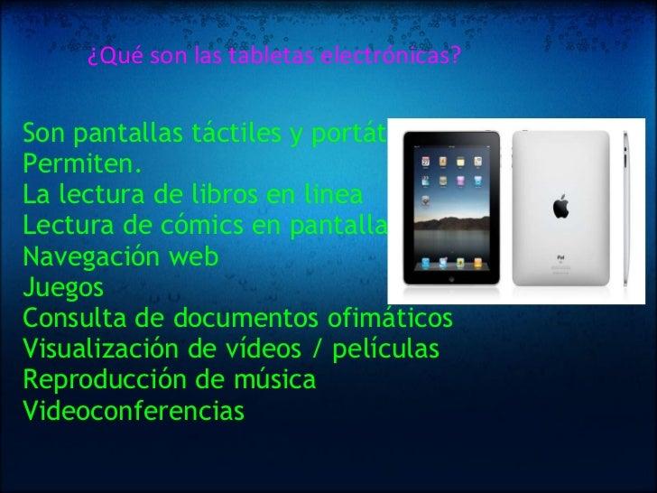 Tabletas Electronicas En La Educacion