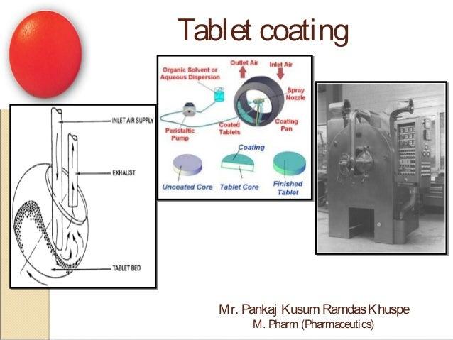 Tablet coating Mr. Pankaj Kusum RamdasKhuspe M. Pharm (Pharmaceutics)
