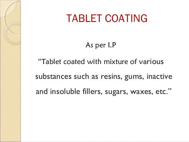 Tablet coating Slide 3