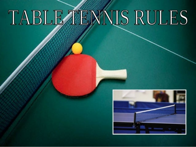 Table tennis is a great recreational game that is popularall over the world. It is commonly referred to as ping-pong, but ...