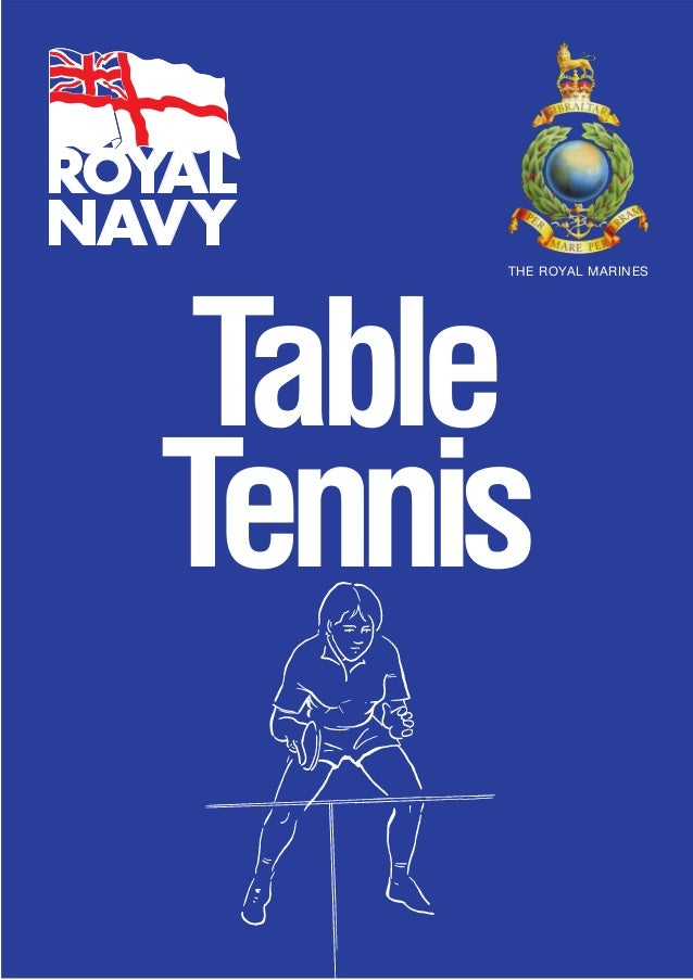 TableTennisTHE ROYAL MARINES