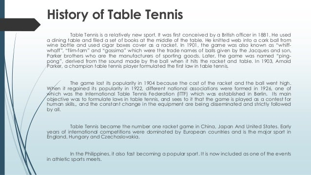 Table tennis rules pdf for 10 table tennis rules