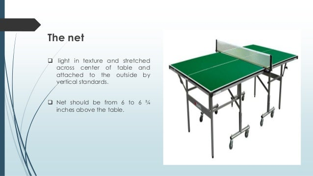 Dimensions of table tennis net - Dimensions of a table tennis board ...