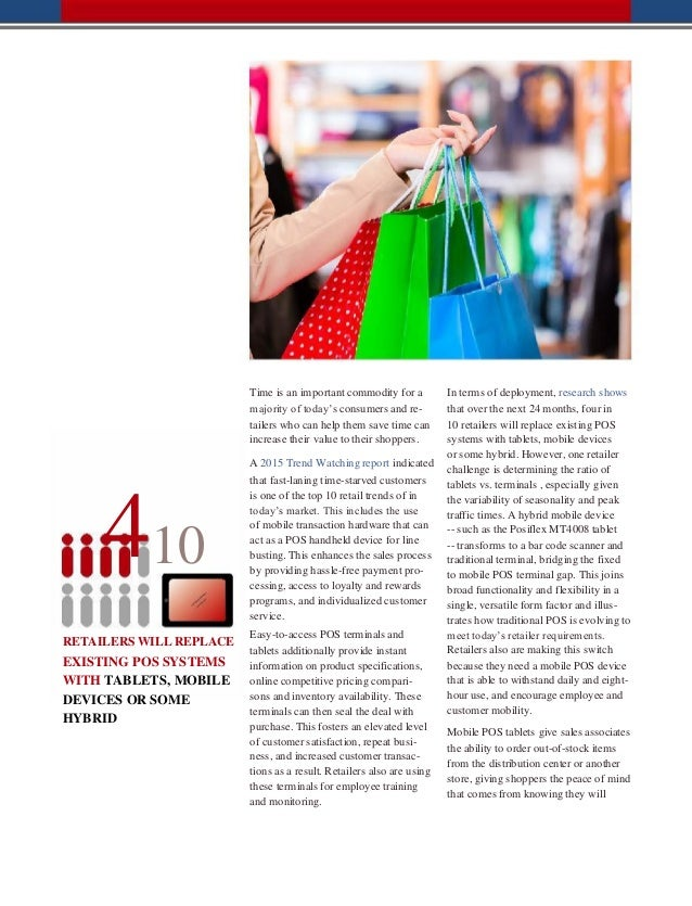 TABLET TECHNOLOGY IN RETAIL-POSIFLEX