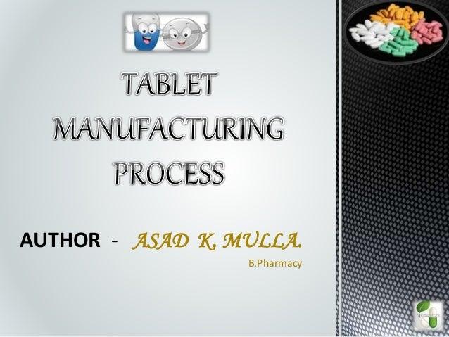 AUTHOR - ASAD K. MULLA. B.Pharmacy