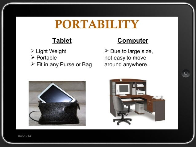 tablet pc future of computer essay The global pc industry has been on a downward trend for the past few years as  smartphones penetration continues to grow tablets are.