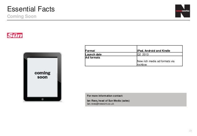 Essential FactsComing Soon                  Format                                 iPad, Android and Kindle               ...