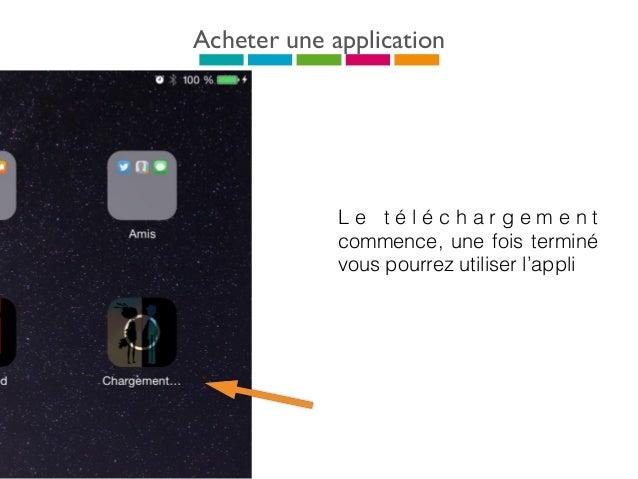 Pré-requis techniques Un PC avec iTunes installé Un accès Wi-fi permettant d'accéder à l'app store et aux contenus des appl...