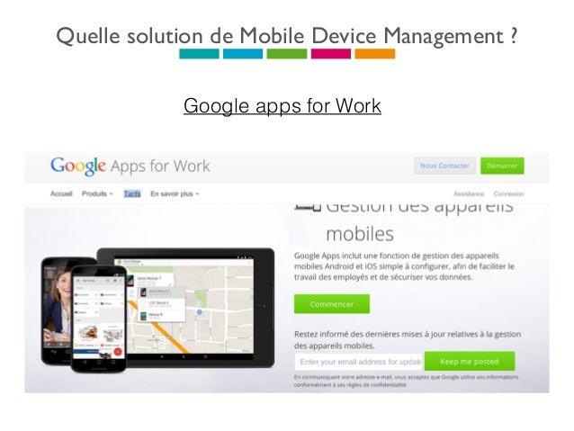 Quelle solution de Mobile Device Management ? Webkiosk - Aesis