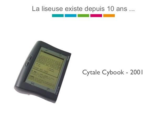 La liseuse existe depuis 10 ans ... Cytale Cybook - 2001
