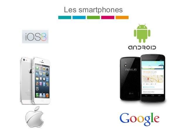 Windows 10 % Android 69 % iOS 21 % Sources : Kantar Worldpanel ComTech - Part de marché OS Mobiles en France en 2014 Parts...