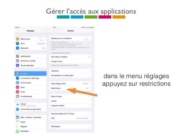 Acheter une application Pour acheter une application appuyez sur l'icône de l'app store