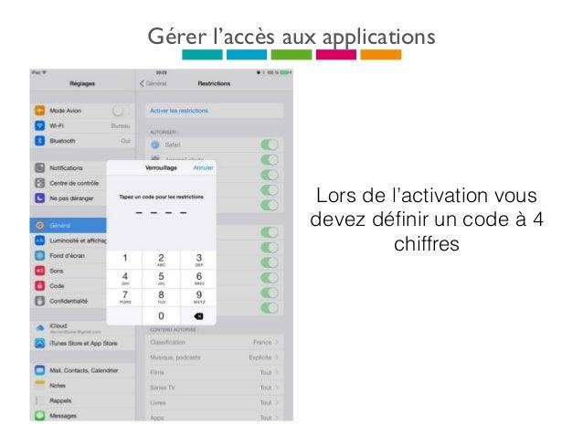 Acheter une application Appuyez sur l'appli désirée, une présentation s'affiche avec la description, captures d'écran, la t...