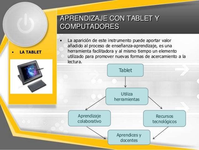 Tablet y computadores en el aula Slide 2