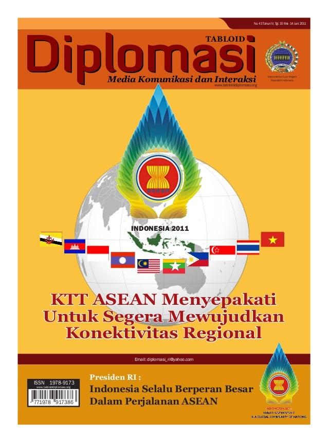 Kementerian Luar Negeri Republik Indonesia TABLOID Media Komunikasi dan Interaksi Departemen Luar Negeri Republik Indonesi...